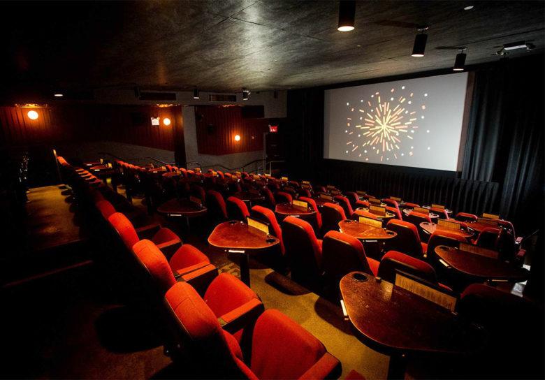 Nitehawk top luxury theater in the US