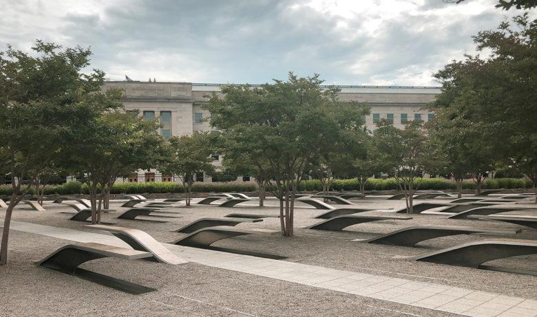 Washington DC 9-11 memorial at the Pentagon