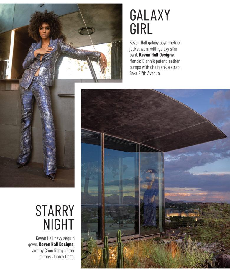 designer Kevan Hall's Fall fashion trend