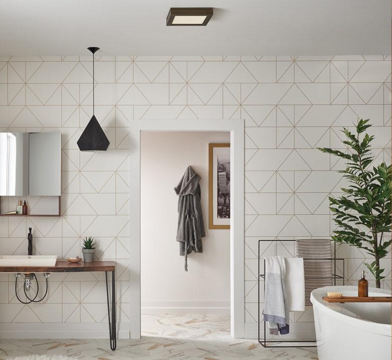 improved bathroom air quality by Broan