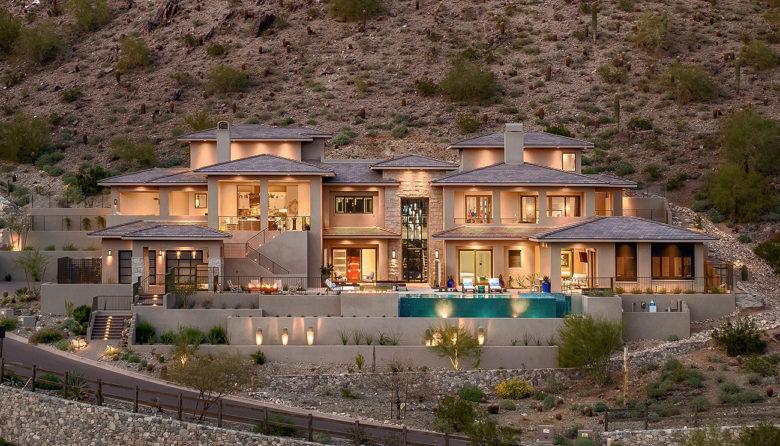 modern desert estate by Cullum Homes Scottdale