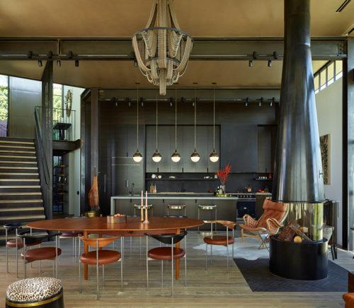 modern medieval LA home Mutuus Design Studio