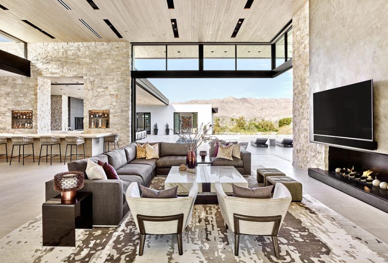 modern luxury living custom home builder Drewett